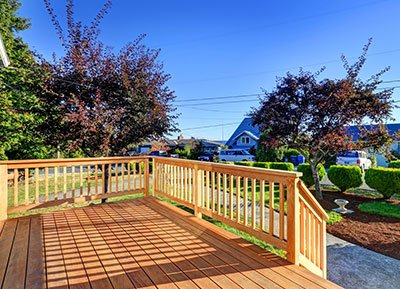 Lower Priced Wood Deck