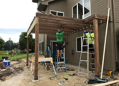 Building a Wood Deck